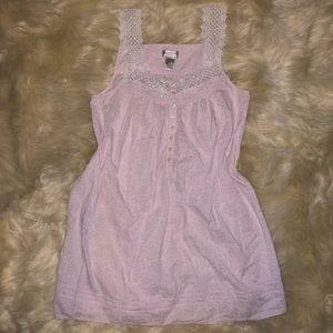 5/$20 Kim Rogers Intimates size medium pink nighty